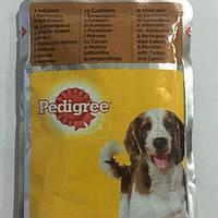 Влажный корм Pedigree Педигри для взрослых собак Индейка с морковью 100 гр