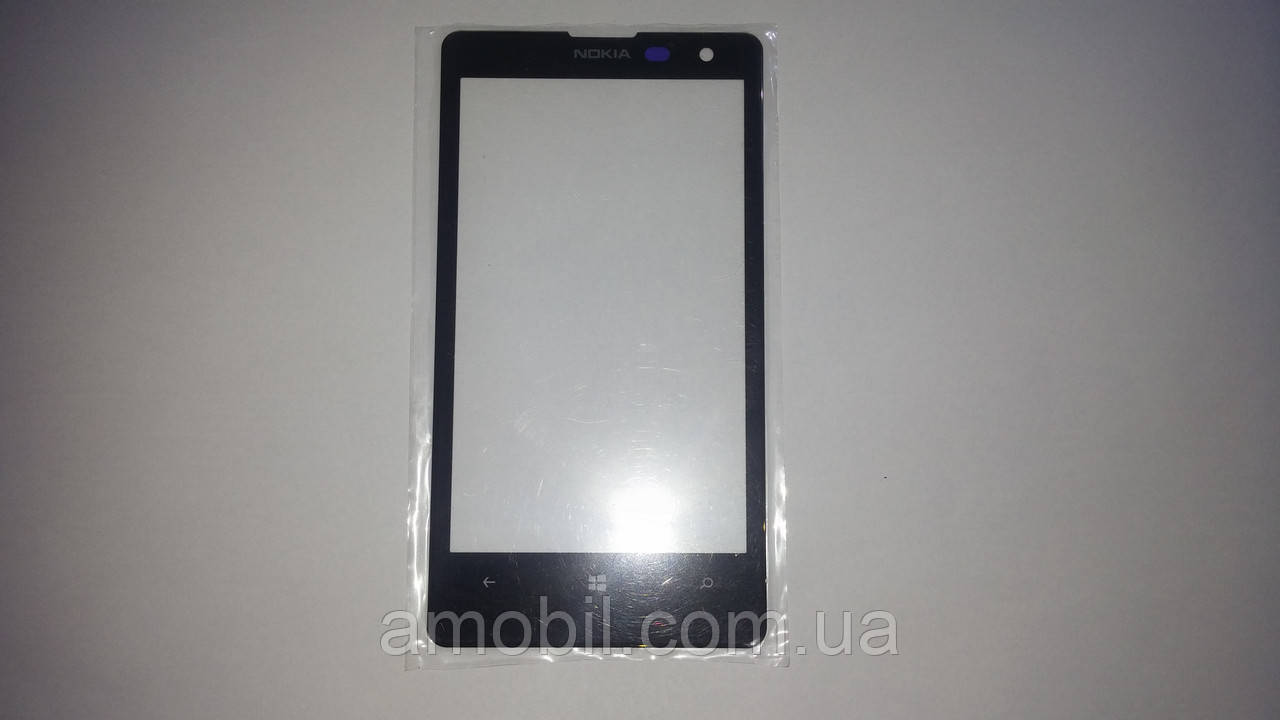 Стекло дисплея Nokia Lumia 1020 black orig