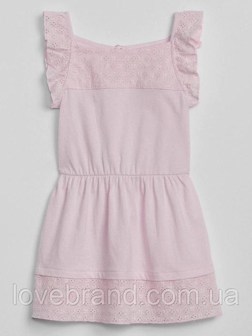Розовое платье для девочки GAP