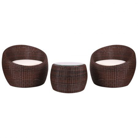 Комплект мебели из ротанга Domingo из ротанга Elit (SC-FT021) Brown Mixed YF1217-R ткань A13815