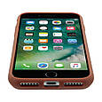 Кожаный защитный чехол для iPhone 7 Promate Wallet-X Brown, фото 8