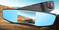 """Зеркало - видеорегистратор 5"""" дюймов на 2 камеры с видеопарковкой и камерой заднего вида (3 в 1)"""