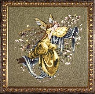 Схема Mirabilia Designs The Dreaming Fairy Мечтательная Фея MD80