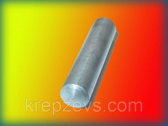 Штифт 12 мм конический с внутренней резьбой DIN 7978, ГОСТ 9464-79