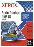 Фотобумага глянцевая А4 260г 20 листов  Xerox (97469)