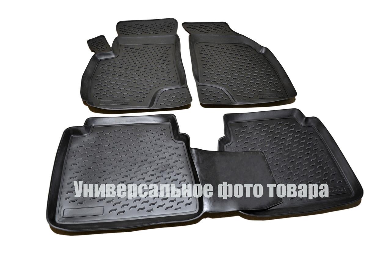 К/с Skoda Octavia коврики салона в салон на SKODA Шкода Octavia А7 2013- (3D), кт 4шт