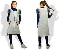 Детская жилетка для девочек Украина, фото 1