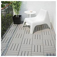 ✅ IKEA RUNNEN (702.381.12) Половая доска, сад, серый
