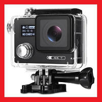 Action Camera F88 WiFi 4K 2 экрана, фото 1