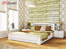 Ліжко з підйомним механізмом Селена Аурі (білий)