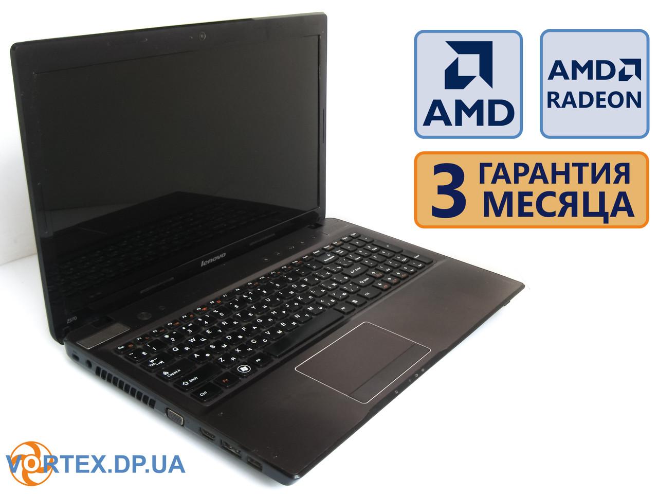 Ноутбук Lenovo Z575 15.6 (1366x768) / AMD A4-3300M (2x1.9GHz) / RAM 4G