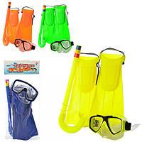 Детский набор для плавания U/R/65083-65093, маска, ласты, трубка