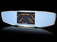 """Зеркало - видеорегистратор 5.0"""" дюймов на 2 камеры с видеопарковкой и камерой заднего вида"""