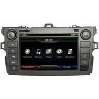 Штатная автомагнитола Winca с GPS навигацией для автомобилей Toyota Corolla 2008-2011