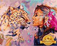 Картины по номерам 40×50 см. Babylon Premium Искательский поцелуй Художник Димитра Милан, фото 1