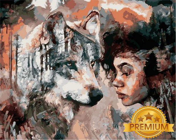 Картины по номерам 40×50 см. Babylon Premium (цветной холст + лак) Перемены могут быть прямо за углом Художник Димитра Милан