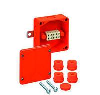 WKE 2 Распределительная огнестойкая коробка 100*100*50mm с клемником (5x6мм2) Spelsberg 86050201