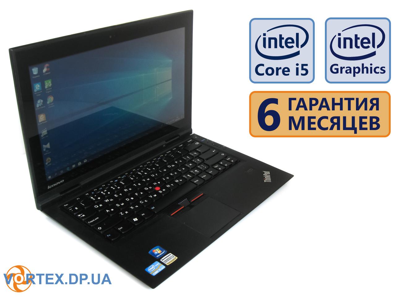 Ультрабук Lenovo ThinkPad X1 13.3 (1366x768) / Intel Core i5-2520M (2x