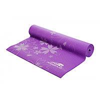 Мат для йоги 173*61*0,6 см PowerPlay / 4011 / фиолетовый, фото 1