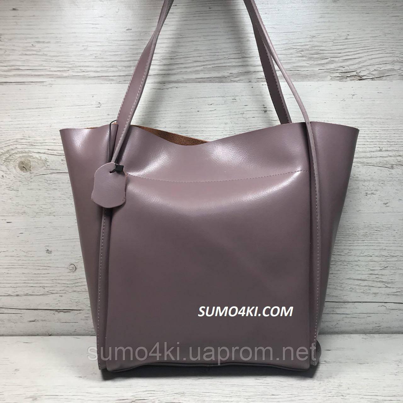 d6a8a35da264 Женская кожаная сумка с длинными ручками - Интернет-магазин «Галерея Сумок»  в Одессе