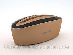 Акустика Atlanfa AT-7755 5W с подставкой, золотая, фото 3