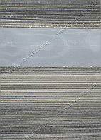 Рулонные шторы День-Ночь Дольче C-813 серый блеск