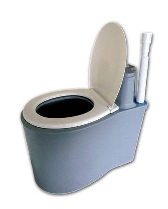 Дарим 75 грн на доставку. Биотуалет торфяной, туалет, унитаз для дачи или усадьбы, фото 2