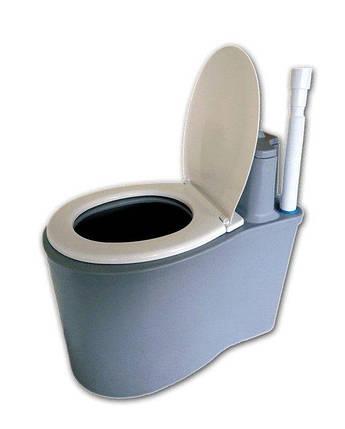 Дарим 80 грн на доставку. Биотуалет торфяной, туалет, унитаз для дачи или усадьбы, фото 2