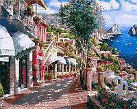 Картины по номерам 40×50 см. Итальянский пейзаж Художник Сун Сэм Парк, фото 1