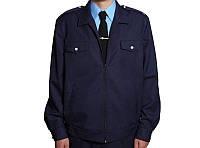 Куртка повседневная ДСНС, ЖД габардин синий \ хаки