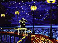 Картины по номерам 30×40 см. Романтический танец Художник Жанна Каневская , фото 1