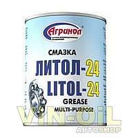 АГРИНОЛ Смазка Литол-24 0.8кг