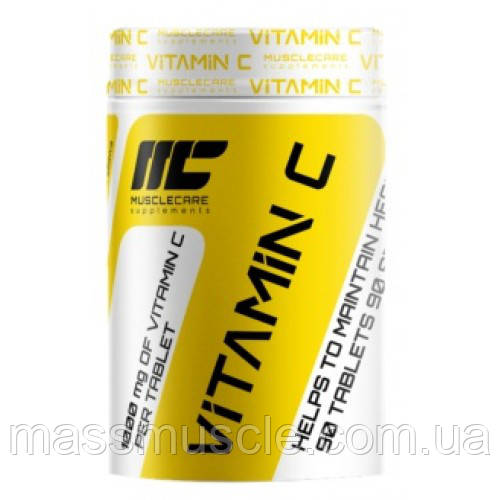 Витамины Muscle Care Vitamin C 1000 90 tabs