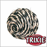 Trixie (Трикси) Мяч для кошки верёвочный,6,5см/1шт.