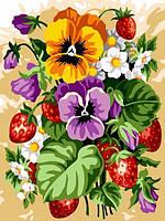 Картины по номерам 30×40 см. Фруктовый букет, фото 1