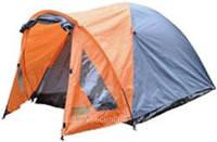 Палатка туристическая 2-х местная (60 тамбур) 200*155*120+ тент