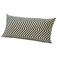 ✅ IKEA GRENO (203.380.10) Подушка, сад, темно-синий,
