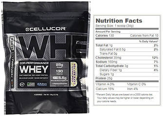 Cellucor, Cor-Performance Whey, 136 грамм (4 порции), Fetti Cake Batter