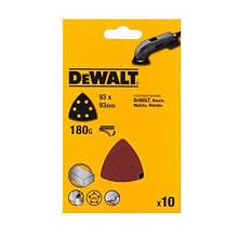 Шлифлисты для дельташлифмашин (10 шт.) DeWALT DT3090 (США/Швейцария)