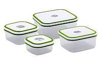 Набор контейнеров для хранения 4 предмета San ignacio Fresh concept SG-4550