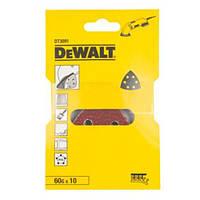Шлифлисты для дельташлифмашин (10 шт.) DeWALT DT3091 (США/Швейцария)