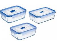 Набор ёмкостей для еды 3пр. Luminarc Pure Box Active 7942l