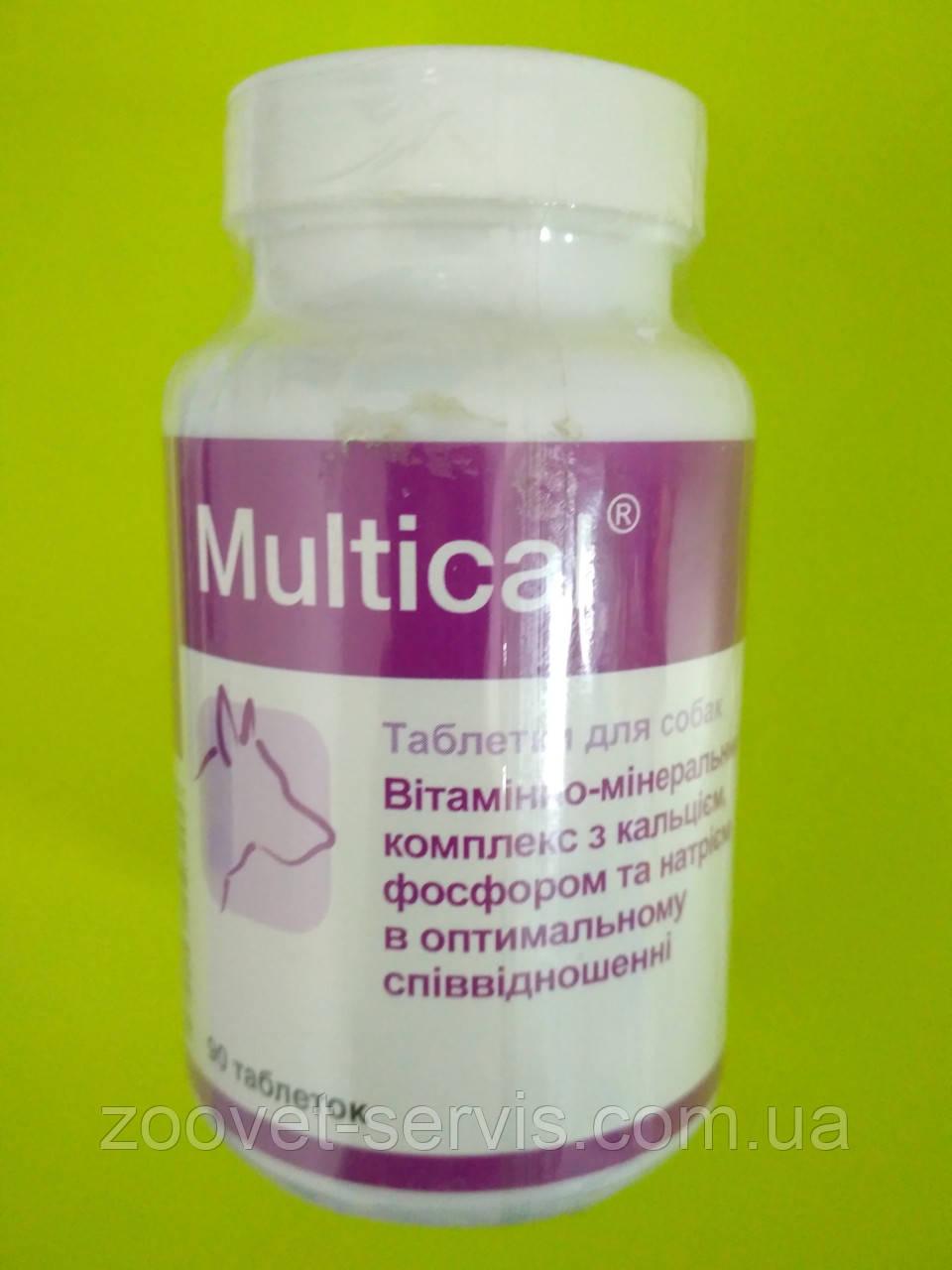 Вітамінно-мінеральний комплекс для дорослих собак всіх порід Multical – Мультикаль, 90 табл.
