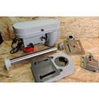 Свердлильний верстат Vilmas 350-DP-13/16 2 Патрона (13мм і 16мм) + Тески в комплекті, фото 3