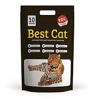 """Силикагелевый наполнитель Бест Кет для кошачьего туалета """"Best Cat"""" White 10 литров"""