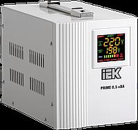 Стабилизатор напряжения переносной серии Prime 1 кВА IEK, фото 1