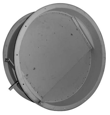 Клапан обратный сейсмостойкий Веза НЕРПА-КО-630-РУКОЯТКА-Н-5000-У