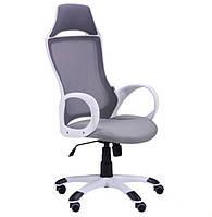 Кресло Viper белый, сиденье Неаполь N-23/спинка Сетка серая