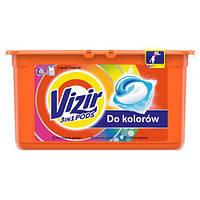 Капсула  для стирки Vizir Go Pod для цветных тканей, 1 шт