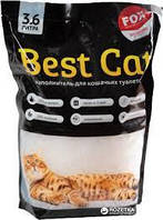 """Силикагелевый наполнитель Бест Кет для кошачьего туалета """"Best Cat"""" White 3,6 литра"""